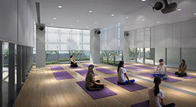 Yoga Room - Embassy Lake Terraces, Bangalore