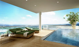 Flats in Bangalore with swimming pool