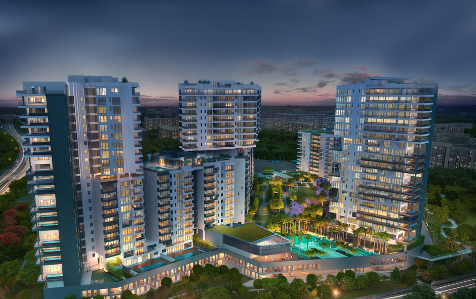 Embassy Lake Terraces - Apartments in Hebbal, North Bangalore