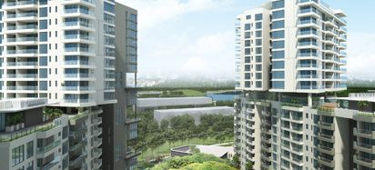Garden blocks - 3 & 4 BHK flats